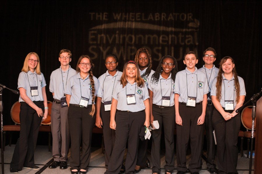 Sawgrass Springs Middle School of Coral Springs. Photo courtesy of Wheelabrator Technologies