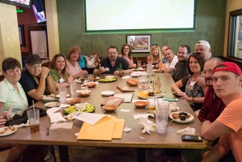 All our judges pictures here at Bru's Room Sports Grille