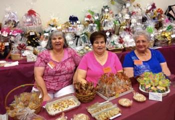 Bakery shop at the St. Elizabeth Ann Seton Catholic Church craft show.