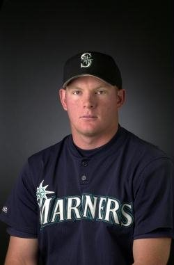 Tim Burton with the Seattle Mariners.