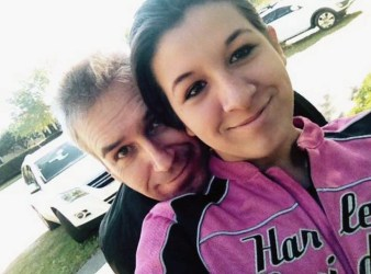 Marc Sheltra and his daughter Stephanie