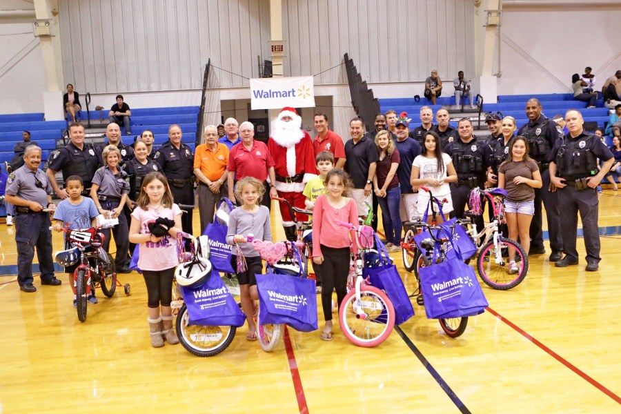 Kruel Classic bicycle giveaway at the Coral Springs gymnasium. - Photos by Jim Donnelly