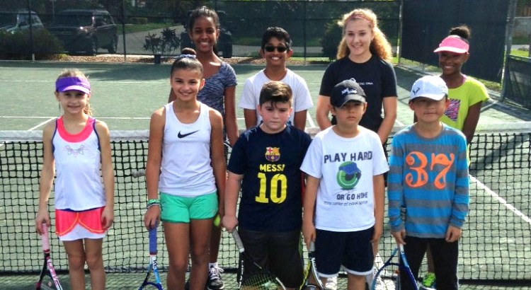 Players Represent Coral Springs at Junior Team Tennis