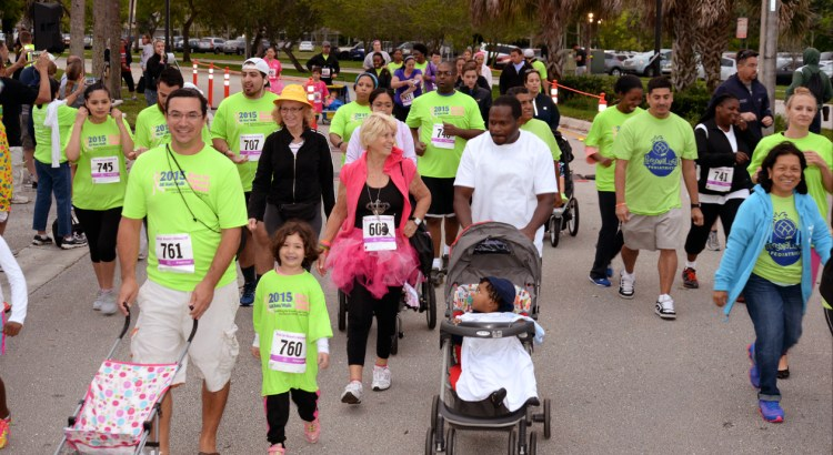 Annual Race For Women's Wellness Takes Place March 26