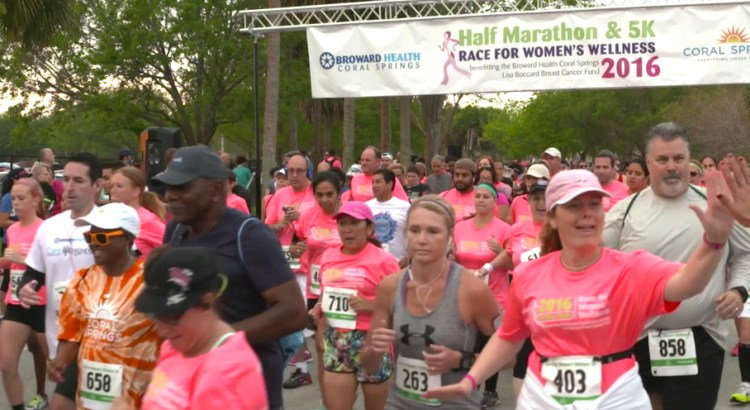 Video of the 2016 Coral Springs Women's Wellness Marathon