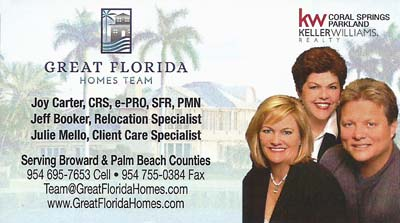 Great Florida Homes Team