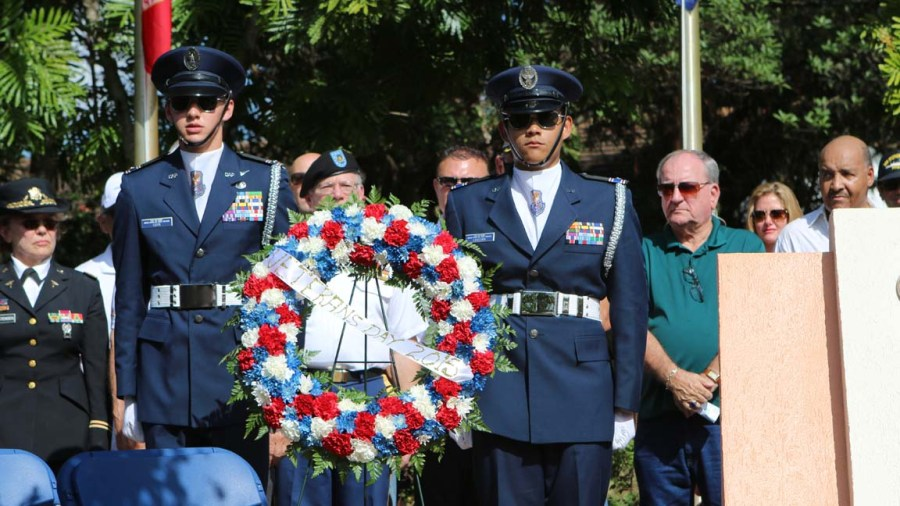 Veterans Day 2015. Photo courtesy City of Coral Springs.