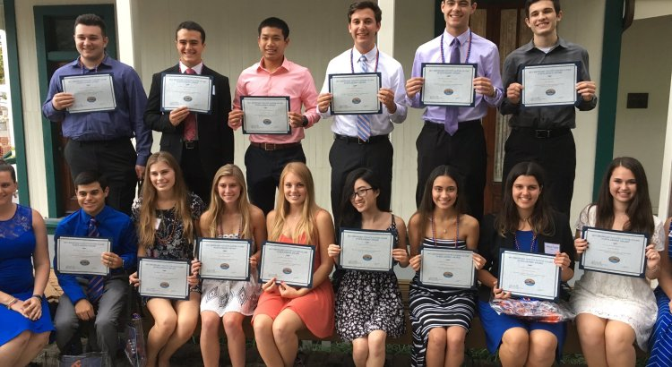 Gator Club Awards University of Florida Scholarships to Local Students