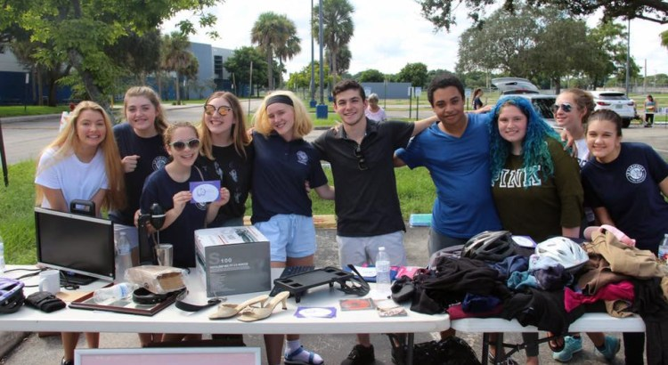 Sell Your Stuff at the JP Taravella Semi-Annual Garage Sale