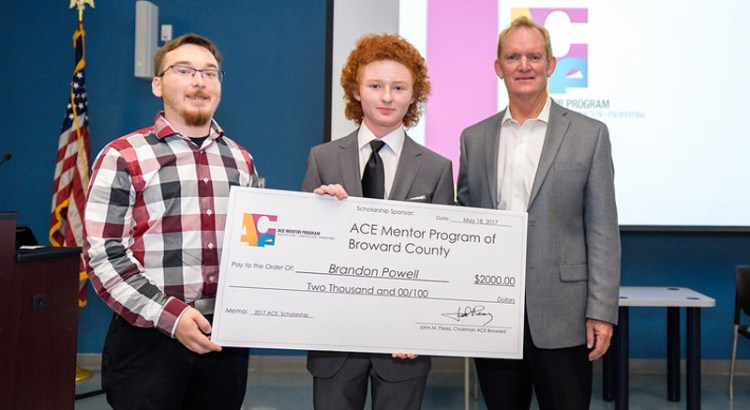 JP Taravella Student Wins Scholarship for Design Inspired by Proposed Beckham Soccer Stadium