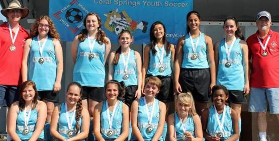 Coral Springs Youth Soccer Holds Registration Dates