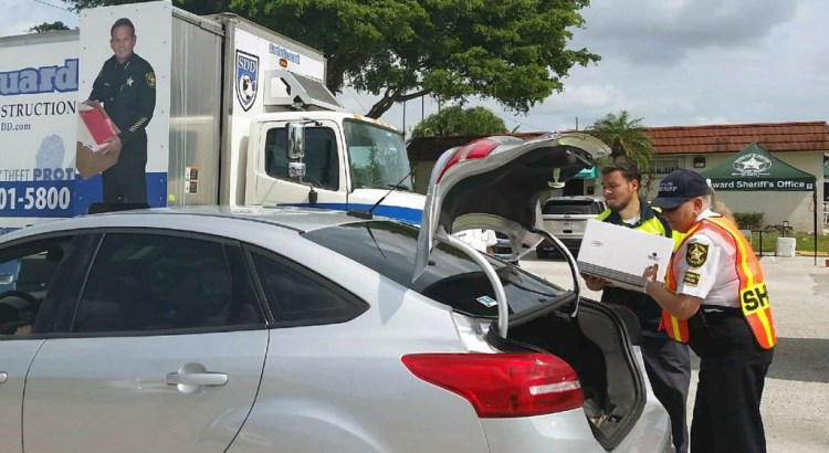 Broward Sheriff's Office Holds Shred-A-Thon in Tamarac
