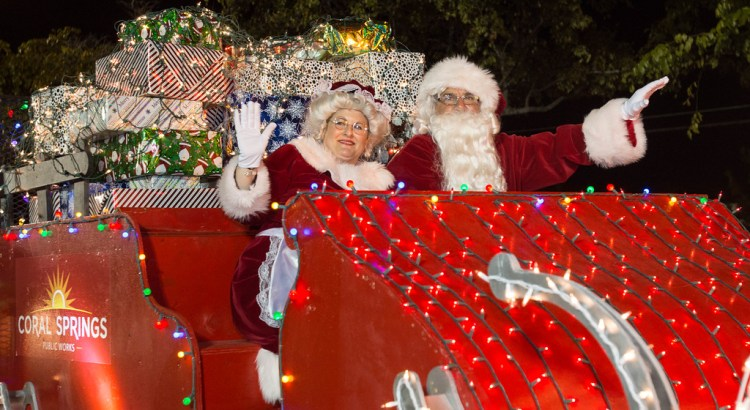 Coral Springs Holds Tropical Holiday Parade