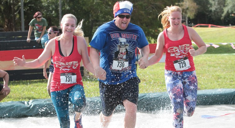 Soldier Rush: Patriotic Obstacle Course Raises Money for a Good Cause