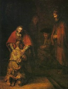The Prodigal Son by Rembrandt