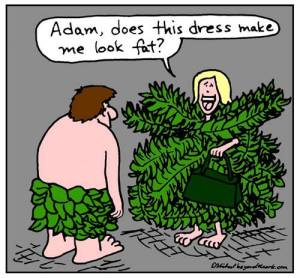 Doug Michael Adam and Eve cartoon