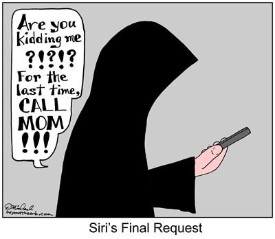 Siri's Final Request