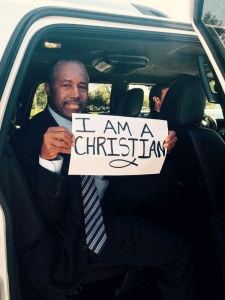 Photo of the Week ~ Ben Carson