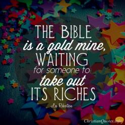 The-Bible-Is-A-Goldmine