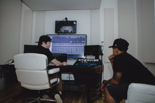Trip Lee in the studio