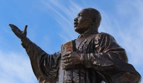 """True peace is not merely the absence of tension; it is the presence of justice."" Dr. Martin Luther King, Jr."