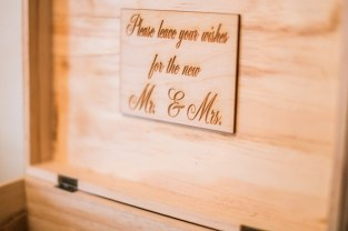 A Box Full of Heartfelt Wishes for the Bride and Groom