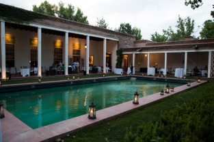 Guests Enjoyed Cocktails by the Pool