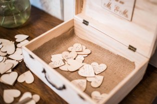 A Box Full of Heartfelt Wishes for the New Mr. & Mrs.