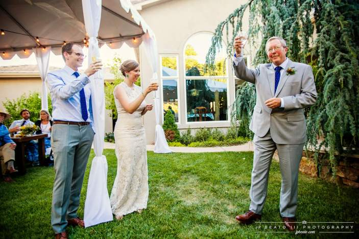 A Special Toast for the Bride and Groom