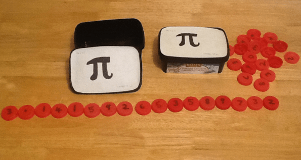 Pi Sorting Game