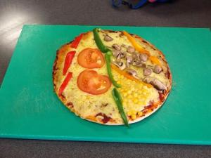 Parts of the Circle Pizza - @TESSmaths2 entry