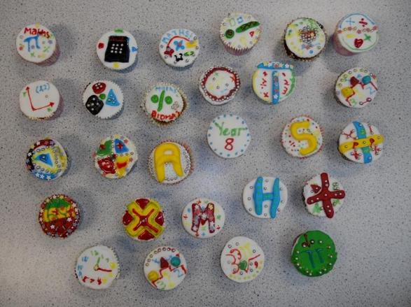 Year 8 Cupcakes -@TheMathsMagpie entry