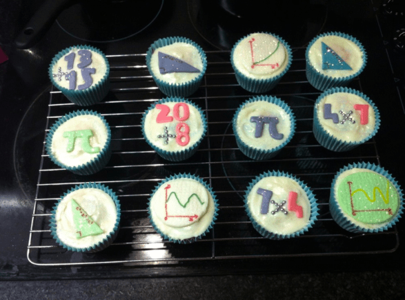 Birthday Maths Cupcakes - @RachelLBradley entry
