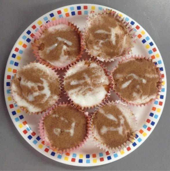 Marshmallow Pi Cakes