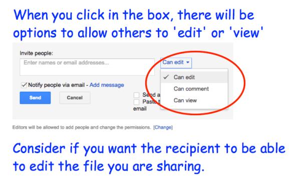 Edit or View