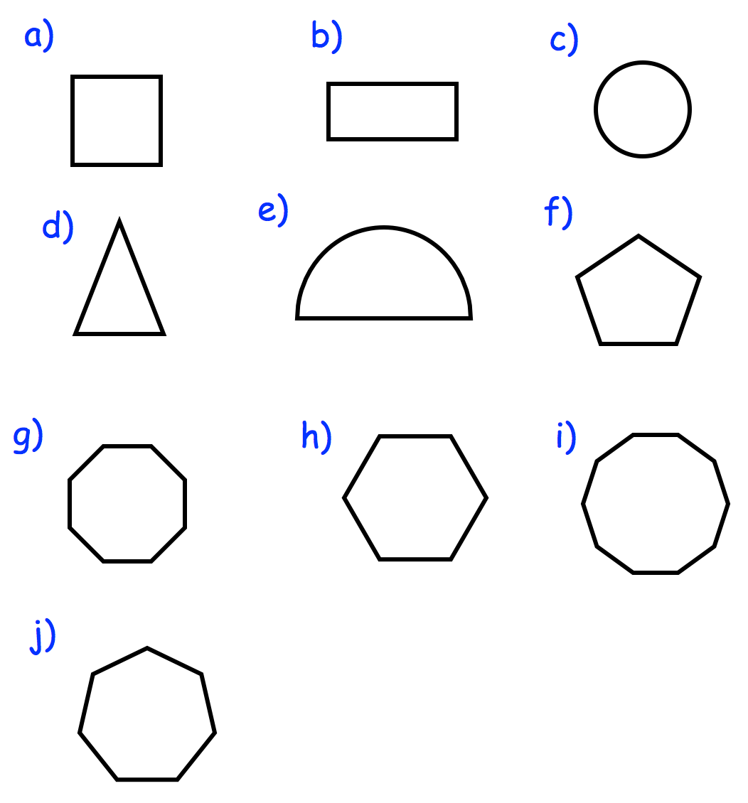 Textbook Answers 2d Shapes