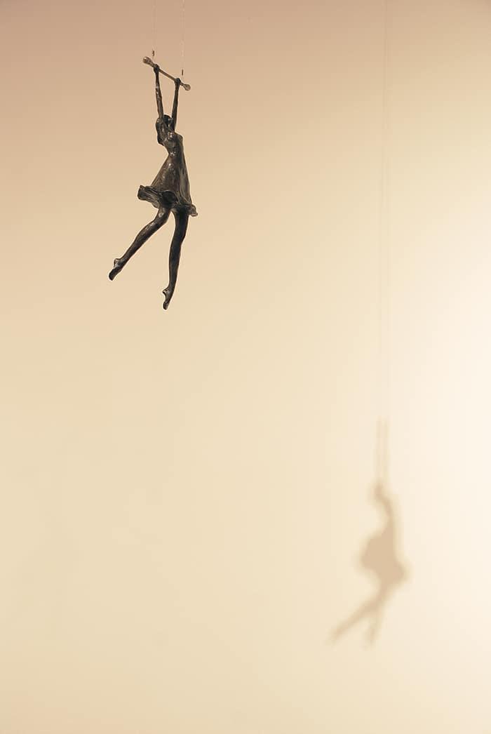 Girl on Trapeze  Corbin Bronze