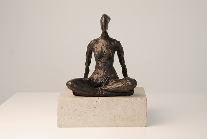 Seated Figure Study I  Corbin Bronze