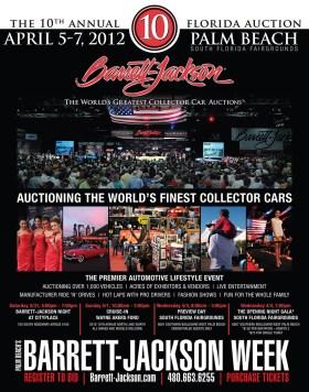 Barrett-Jackson Palm Beach 2012 Promo Poster