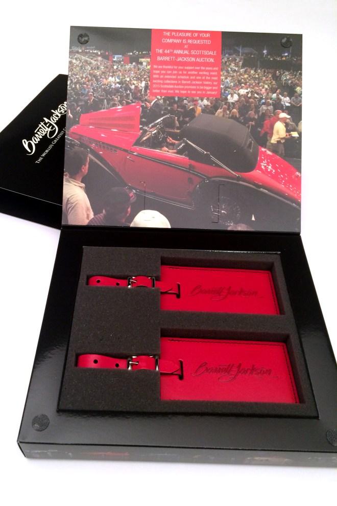 Barrett-Jackson Gift Box Designed by Corbin Snyder