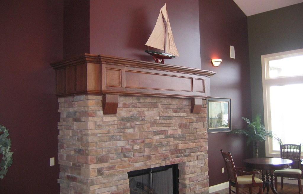 Custom Home – HB  Fireplace