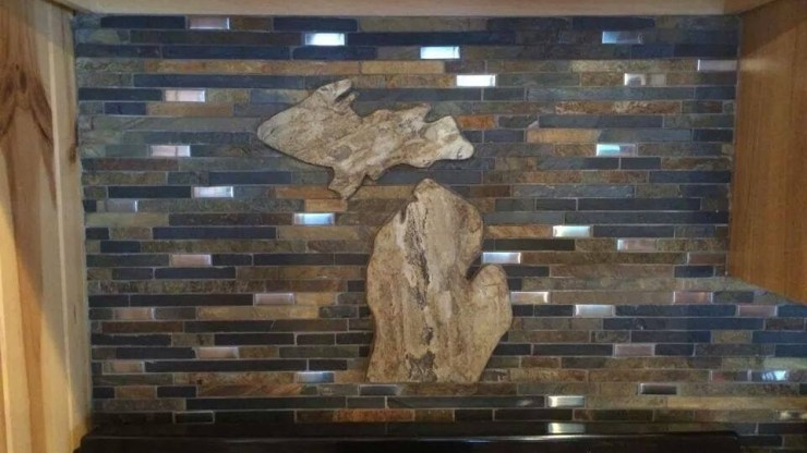 Custom Michigan Backsplash
