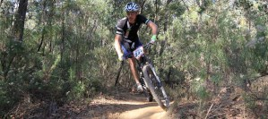 Mike Inglis won the Masters 5 National XCO Series