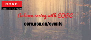 Autumn Racing with CORC