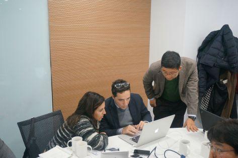 Con investigadores de las universidades de Oporto, Zunchen y Daegu, del proyecto EKRUCAMI