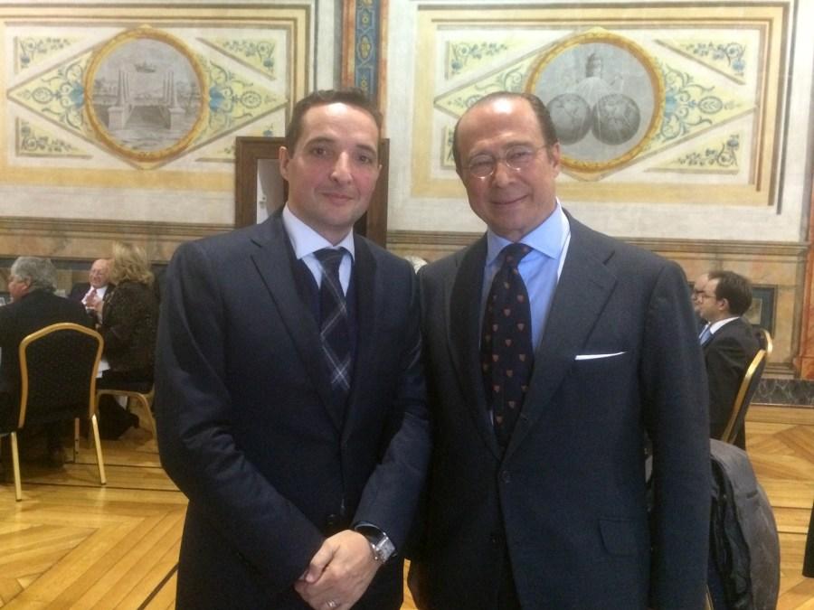 Juan Manuel Corchado - Antonio Vázquez - Presidente de Iberia