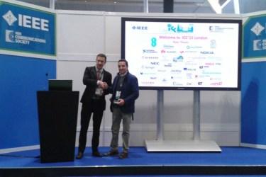 Juan Manuel Corchado - IEEE ICC 2015 (International Conference On Communication) en el ExCeL (ExCeL Exhibition Centre) de Londres