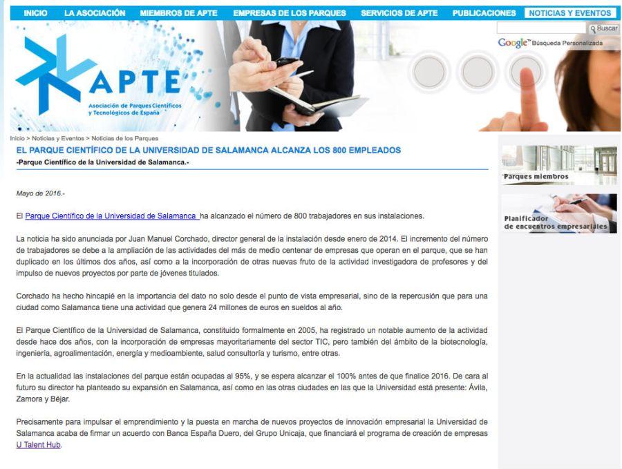 Asociación de Parques Científicos y Tecnológicos de España