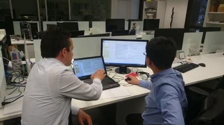 El Dr. Li Tiancheng becado para investigar en el grupo BISITE