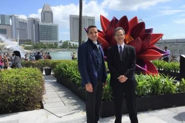 Visita a Singapur